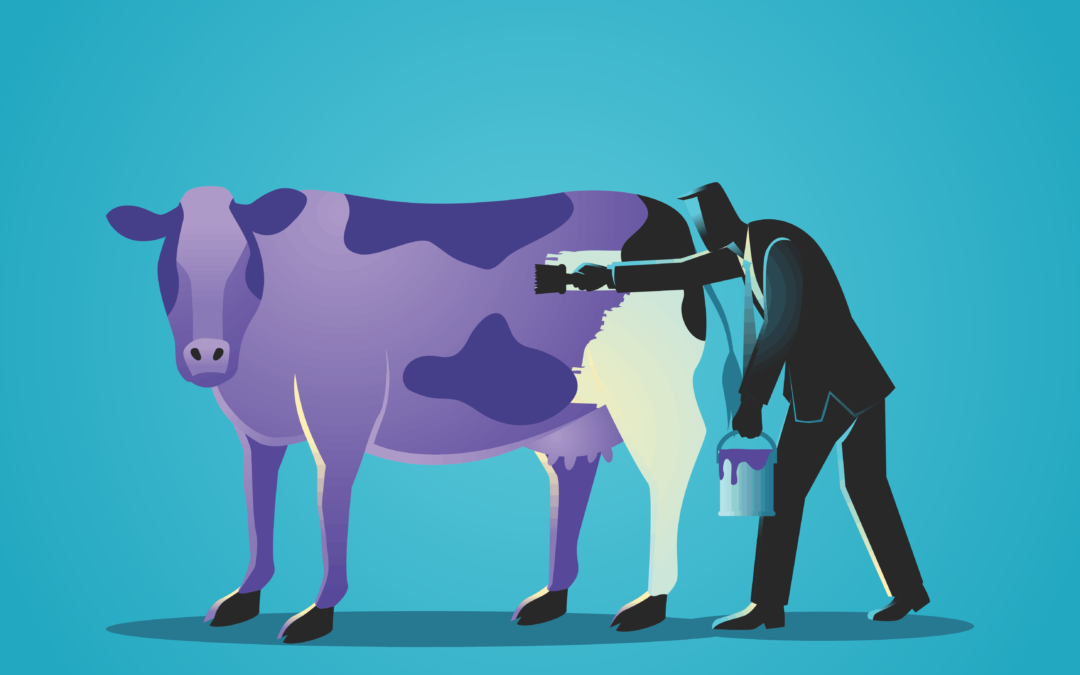 "Become the ""Purple Cow"" in Your Market"